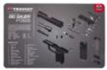 """Tekmat Armorers Bench MAT 11""""X17"""" Sigarms P365 BLA"""