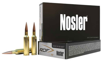 Nosler 53445 RDF Match   338 Caliber .338 300 GR Hollow Point Boat Tail 100 Box