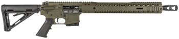 """Black Rain BROCARNIVORE450BOD Carnivore   Semi-Automatic 450 Bushmaster 16"""" 10+1 Magpul MOE Stk OD Green Cerakote"""