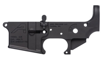 Aero Precision APAR501102AC Ambidextrous Stripped Lower Receiver AR-15 Ambidextrous Black Anodized