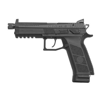 "CZ P-09 SR 9MM 5.1"" NS Black 21Rd 91270"