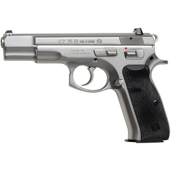 "CZ 75B 9MM 4.6"" Matte Stainless 16Rd 91128"