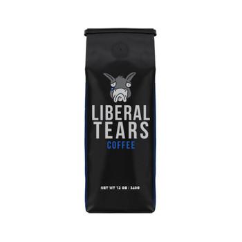 LIBERAL TEARS TEARS COFFEE BLACK MEDIUM ROAST 12OZ