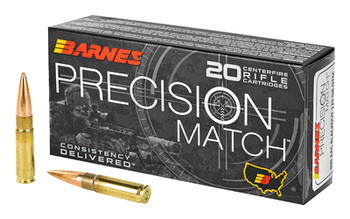 BARNES  PREC MTH 300BLK 125GR 20/200