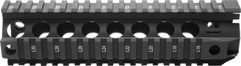 "BCM Gunfighter Quad Rail 556 8"" Black"