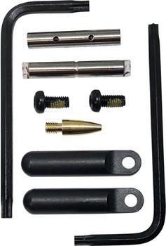 KNS PRECISION PIN KIT NON-ROTATING GEN2 AR15/M16 .154 BLACK