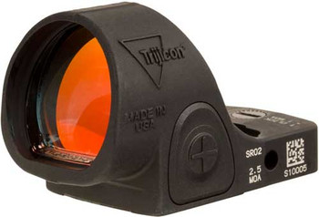 TRIJICON SRO SIGHT ADJ. LED 2.5 MOA RED DOT W/O MOUNT