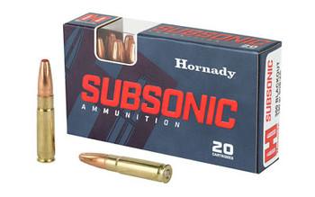 Hornady 300Black 190 Grain Weight Sub-X 20/Box