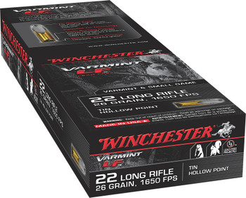 Win Varmint Lf 22lr 26 Grain Weight Hp 50/Box