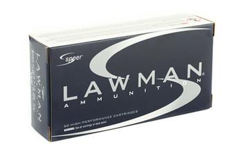 Speer Lawman 9MM 115 Grain Weight TMJ 50/Box 53650