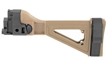 SB Tact CZ Bren 805 Folding Brace Black - Sbtsbt80