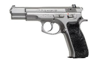"CZ 75b 9mm 4.6"" Matte Stainless 10rd"