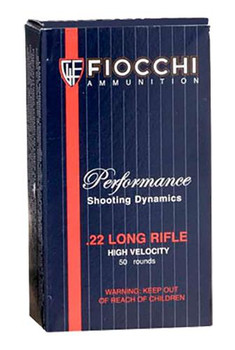 Fiocchi 22Lr 40 Grain Weight Cprn 50/Box 22FHVCRN