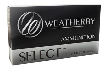 WBY Ammo 257Wby 100 Grain Weight Spitz 20/Box