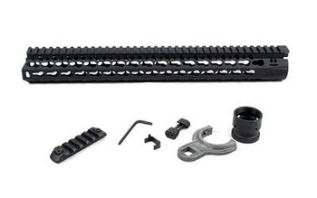 "BCM Gunfighter Keymod 5.56 15"" Black"