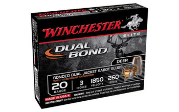 "WIN Dual Bond 20Ga 3"" HP Sabot 5/Box SSDB203"