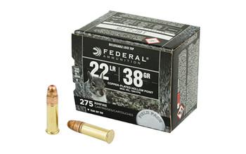 Federal Rge&Fld 22Lr 38 Grain Weight Cphp 275/Box