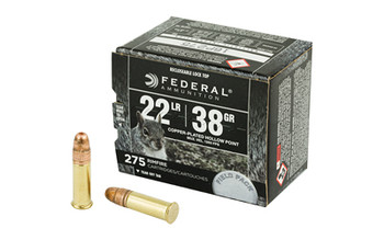Federal Rge&Fld 22Lr 38 Grain Weight Cphp 275/Box