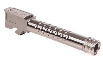 ZEV Barrel FOR G17 Dimpled Grey Threaded