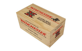 WIN 22LR 36Gr Copper Plated HP Wood BOX 500Rd