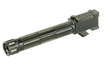 Lantac Barrel For G19 Fluted Threaded Black