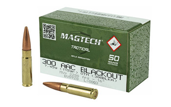 Magtech 300Black 115 Grain Weight HP 50/Box