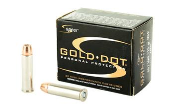 Speer Gold DOT 357Mag 125 Grain Weight HP 20/Box