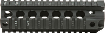 "BCM Gunfighter Quad Rail 556 7"" Black"
