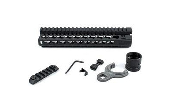 "BCM Gunfighter Keymod 5.56 9"" Black"