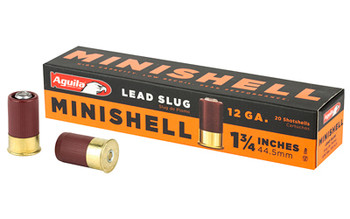 Aguila Minishell 12Ga Slug 20/Box 1C128974