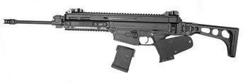 "CZ 805 Featureless Carbine 223 Black 16.2"" 10Rd"