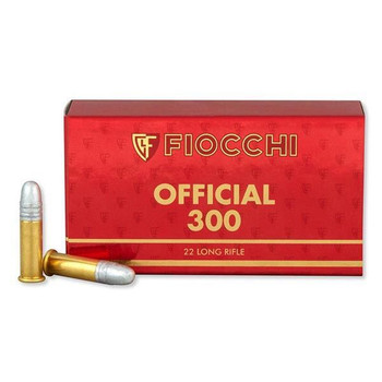 Fiocchi 22Lr 40Gr Exacta Official Super Match Ammo