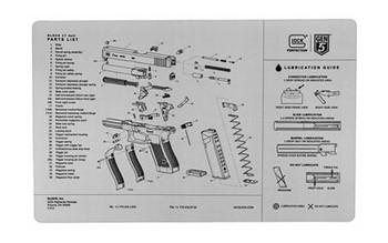 Glock OEM GEN 5 Bench MAT AS10064