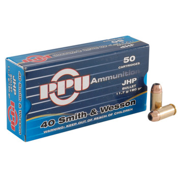 Prvi Partizan 40 S&W 180 Grain Jacketed Hollow POI