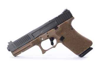 Fowler Industries Costa Ludus Covert FDE NO Window G17/19 GEN 4 Black Barrel