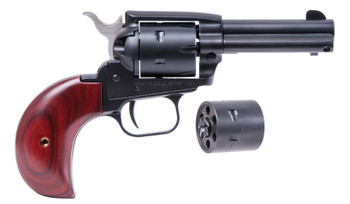 """Heritage SRR22MB6AS Rough Rider22LR/22 Mag 6.5"""" 6rd AS Cocobolo Grip Blued Finis"""