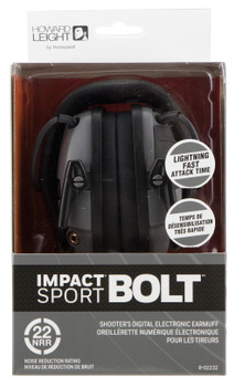 Howard Leight Impact Sport Bolt Elect Grey R-02232