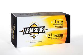 Armscor .22Lr Hvhp 36 GR. Hollow Point Ammunition