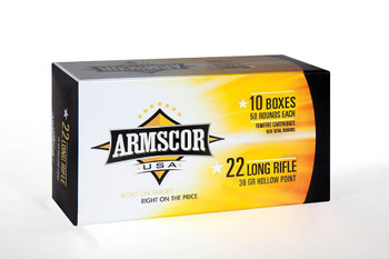 Armscor .22Lr Hvhp 36 GR. Hollow Point Ammunition