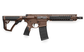 "Daniel Defense M4 Carb Mk18 556nato 10.3"" Brn"