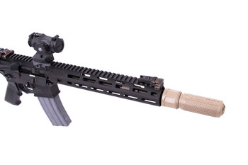 KAC 556QDC/CQB SUPPRESSOR FDE