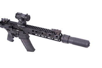 Knights Armament 762Qdc/Cqb Spprssr Black