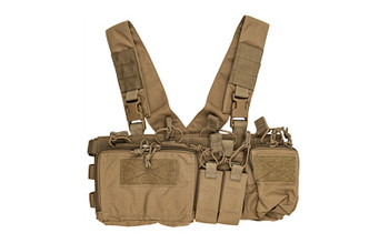 Haley Heavy Chest RIG Coyote D3CRXH-COYOTE