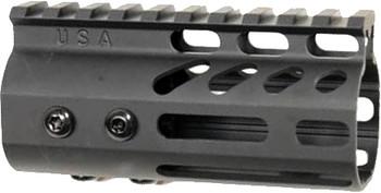"Guntec USA Ultra Light Handguard 4"" M-Lok Black"