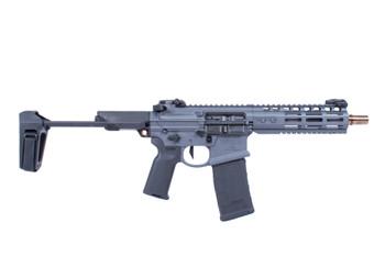 Noveske GEN 4 N4-Pdw 300Blk 7.94 Qbrace Pistol Mlok Grey