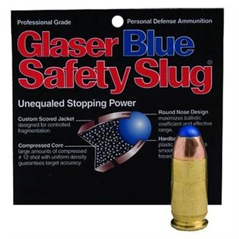 COR 32Acp 55 GR Glaser Blue SA 00400