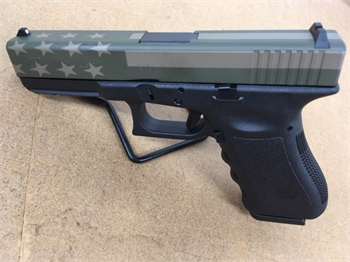 GLO 17 FS 17SH 9MM BLK/FLAG