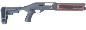 Black Aces Tactical Pro Series S Mini Shotgun - Walnut