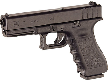GLO 17 FS 9MM EXT TACT GRAY