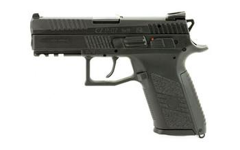 """CZ P-07 9MM 3.8"""" Black 15Rd W/22Lr ADP"""